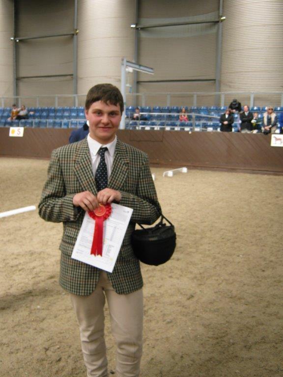 Class 4 winner Liam Bailey
